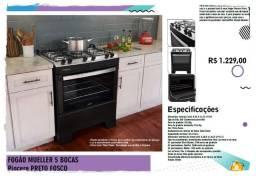 Promoções - Fogão 5 Bocas - Piacerre