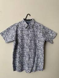 Camisa manga curta estampada