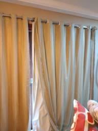 03 cortinas completas