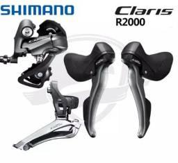 Shimano Claris r2000 + Catraca e Corrente