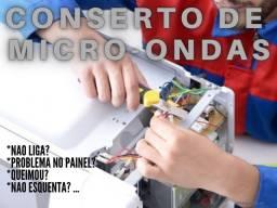 Conserto de microondas