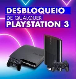 Desbloqueio PS3 última versão( jogue online)