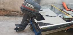 Barco, Motor Yamaha 25hp, Motor eletrico 54lbs, carretinha