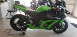 Kawasaki zx-10r verde 2012