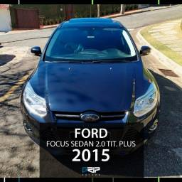 Focus Sedan Tit. Plus 2.0 Aut. | 51mil km | Abaixo da tabela | 2015