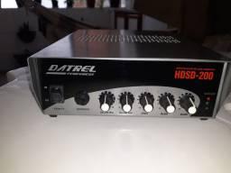 Amplificador de som para ambientes