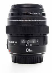 Lente p/ Canon 100mm f/2.0 impecável