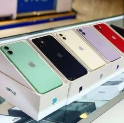 IPhone 11 64Gb ( Novo, Lacrado, Garantia) temos 128Gb também
