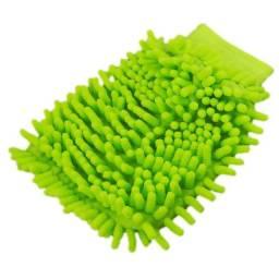 Luva Microfibra 100% Poliester Dupla Face Limpeza Polimento para carro movel