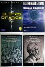 Combo - 4 Livros técnicos/consulta de Física/Eletricidade