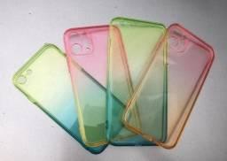 Título do anúncio: Cases originais de silicone para iPhone ?