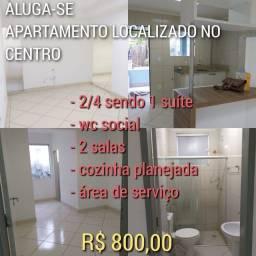 ALUGA-SE APARTAMENTO NO CENTRO DA CIDADE