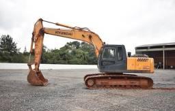 Escavadeira Hidráulica Hyundai 210