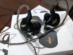Fone de ouvido KZ modelo EDX novo