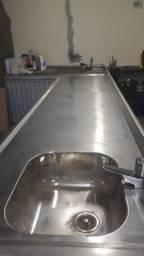 Balcão refrigerado aço inox 430 Tecnox  Novo