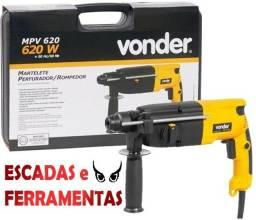 Título do anúncio: Martelete Perfurador/Rompedor 620W, Sds Plus, Novo, garantia