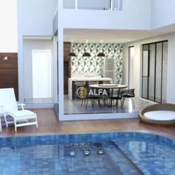 Casa com 3 dormitórios à venda, 260 m² por R$ 1.300.000 - Condomínio Fechado Las Palmas -