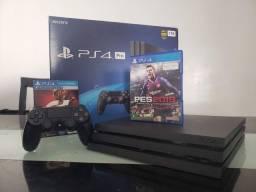 Playstation 4 Pro 1TB + Pro Evolurion 2020 ( Loja Física )