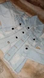 Jaqueta jeans P nova