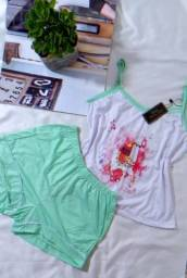 Babydoll e pijamas adulto femininos