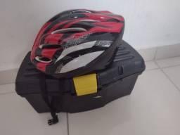 Título do anúncio: Vendo essa caixa de feramenta e um capacete para ciclistas