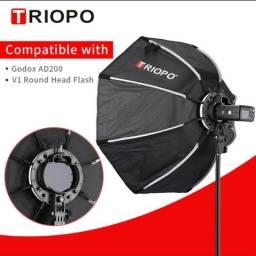 Octabox Triopo KX-65 para flashes speedlights