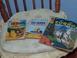 Revistas quadrinhos antigas
