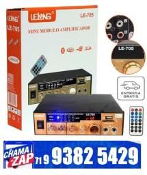 Mini Modulo Amplificador De Audio Bluetooth Karaoke Lelong