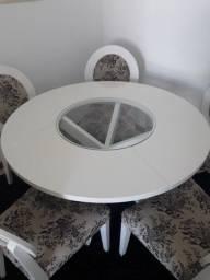 Título do anúncio: Mesa redonda com 05 cadeiras