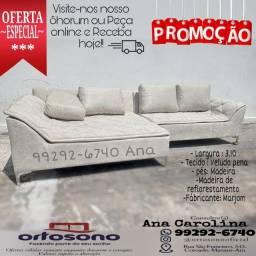 Título do anúncio: Promoção sofá 5 lugares /// Sofá 3.10 largura