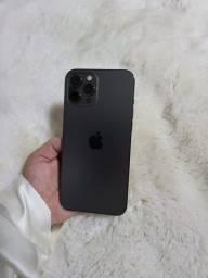 Título do anúncio: iPhone 12 Pro Max 256 GB Grafite na garantia até 22/12/21