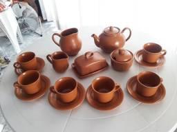 Jogo de café em cerâmica Villa Rica