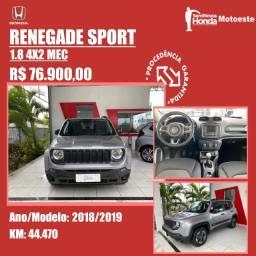 Título do anúncio: Jeep Renegade Sport 1.8 4X2 MEC