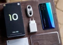 Xiaomi Mi 10 Lite 5G 10X S/Juros 128GB/6Ram/1 Ano de Garantia/48MP/Snapdragon 765G