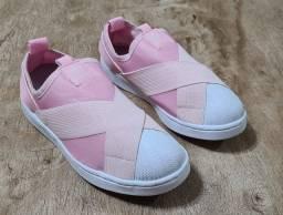 Sapato infantil rosa