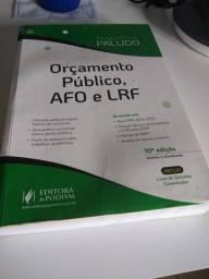 Livro Orçamento Público, AFO e LRF - Augustinho Paludo - 2020