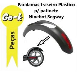 Paralamas traseiro plástico p/ patinete Ninebot Segway