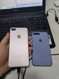 Troco iPhone 7 Plus 256 GB Rose