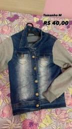 Título do anúncio: Jaqueta jeans com moletom
