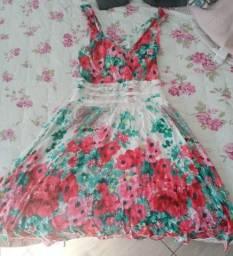 Vestido Floral tamanho P