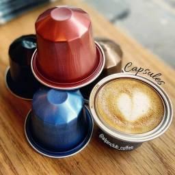 Título do anúncio: Capsulas de Café de Alumínio - 10.000 unid. Atacado em caixas de 10 Unid. Cada