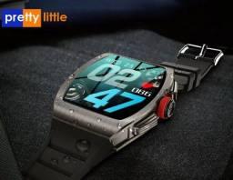 Tk18 relógio inteligente homem ip68 à prova dágua bluetooth chamada PRETTYLITTLE-WATCH