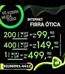 Título do anúncio: internet fibra manaus