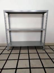 Estante de aço Pratica por R$ 159 em 3x sem juros  Entrego *
