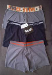 Título do anúncio: Kit 3 Cuecas Mash Tam-G (original / nova) R$ 38,00