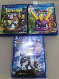 Vendo Spyro trilogia , Ratchet clank