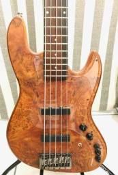 DMark Jazz Bass Custom Buckeye 5c