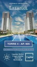Título do anúncio: Alto Padrão Liverpool - Apto. 90 m2 na Ponta Negra !