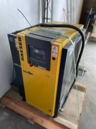 Compressor AR - 2xKaeser SM15 +1x Kaeser SK19 +2x Vaso 1000l e 500L+Secador +Control
