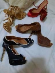 Vendo sapatos de saltos em ótimo estados